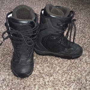 Rossignol Black Snowboarding Boots